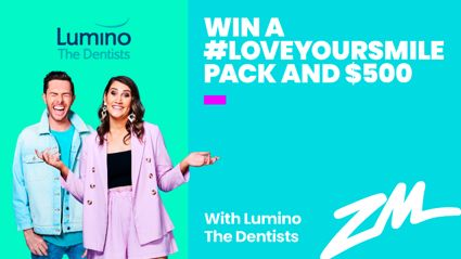 WIN A #LOVEYOURSMILE PACK AND $500 WITH LUMINO THE DENTISTS!