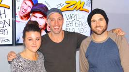 Fletch, Vaughan & Megan's First Day at ZM