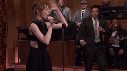 Watch Emma Stone's Epic Lip Sync Battle With Jimmy Fallon!