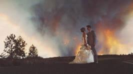 Amazing Wildfire Wedding Photos