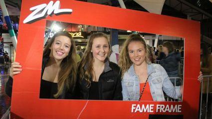 WELLINGTON - Ellie Goulding Fame Frame Photos