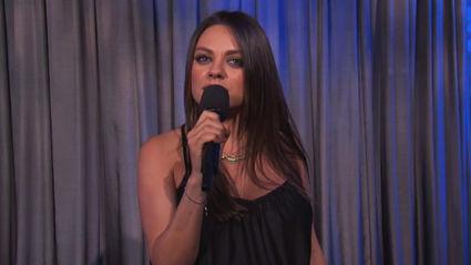 """Mila Kunis: """"Men, Stop Saying You're Pregnant"""""""