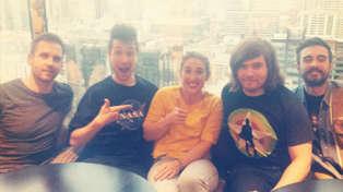 Listen - PJ Interviews Bastille In Melbourne