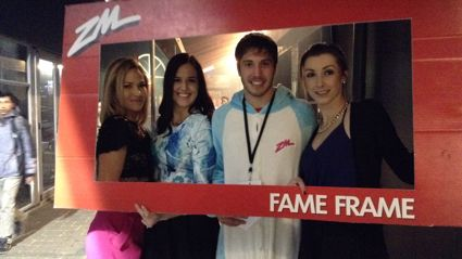 HAMILTON - The Block Party Winter Showcase Fame Frame Photos