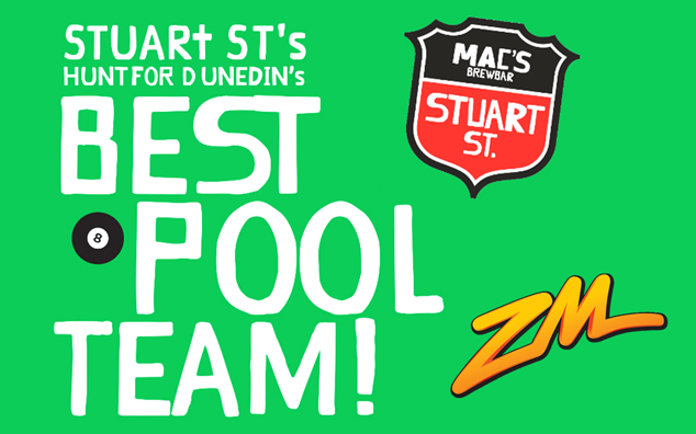 DUNEDIN - Mac's Brew Bar Sunday Sessions Pool Competition