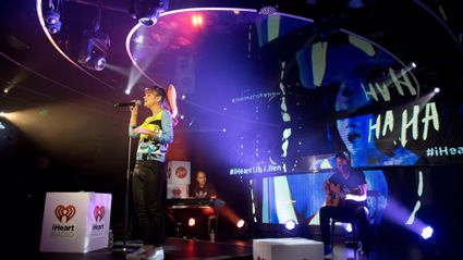 Lily Allen Performs 'Not Fair' Live For iHeartRadio