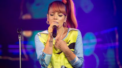 Lily Allen Performs 'Hard Out Here' Live For iHeartRadio