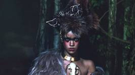 Rihanna Embraces Her Wild Side in New Photoshoot