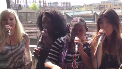 Amazing Girl Group Cover Rudimental - Waiting All Night