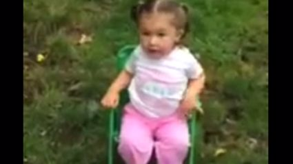 2-Year-Old Does the Ice Challenge (Warning: Surprisingly NSFW Language)