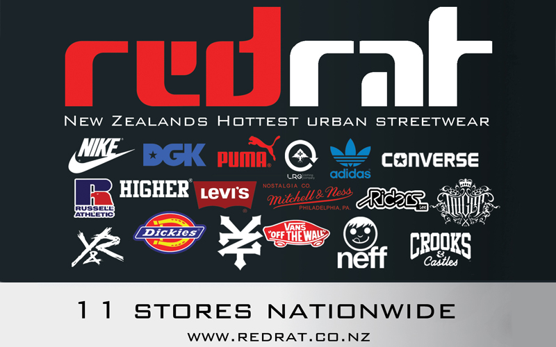 Win 1 of 5 $100 RED RAT Street Wear Vouchers