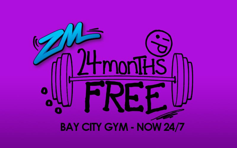 HAWKE'S BAY - Win a 24 Month 24/7 Membership With Bay City Gym