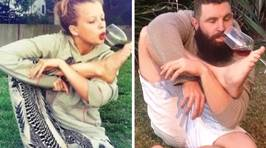 Bearded Guy Recreates Girls' Tinder Profile Pics