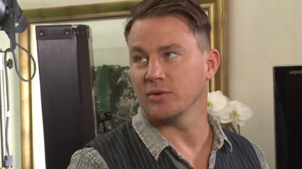 Channing Tatum Explains What The Dick Graze Is