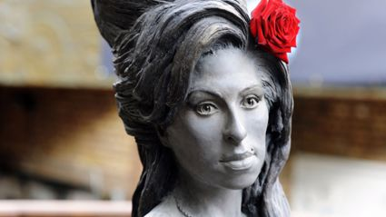 Amy Winehouse Life-size Statue Unveiled on Her 31st Birthday