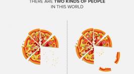 Designers Illustrate The Different Ways That There Are Only Two Types Of People In The World