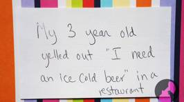 Mums Share the Weirdest Things Their Kids Have Ever Done