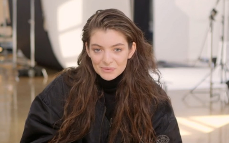 Lorde Talks Hunger Games