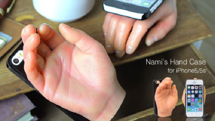 Tech Tuesday: Creepy Fake Hand Phone Case