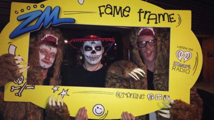 CHRISTCHURCH - Chills & Thrills Halloween Party Fame Frame Photos