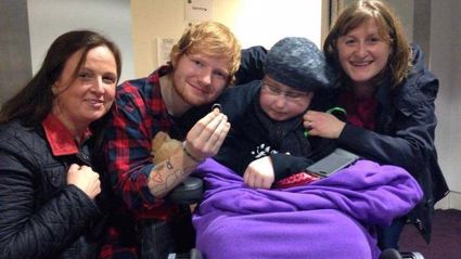 Ed Sheeran 'Marries' Ill Superfan
