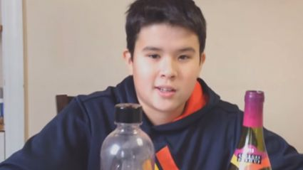 Boy Tries to Make His Own Sparkling Wine. It Goes Wrong.