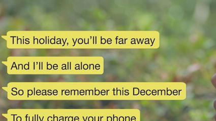 A Texting Christmas Carol
