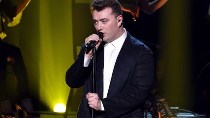 Sam Smith - I'm Not The Only One ft. A$AP Rocky (Live at the American Music Awards)