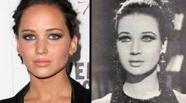 Celebrities and Their Historical Twins