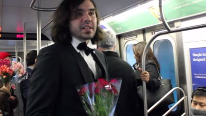 Couple Get Married on NYC Subway