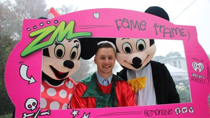 WELLINGTON - ZM Christmas Globe at the Thorndon Fair Fame Frame Photos