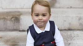 Prince George's Official 2014 Christmas Photographs