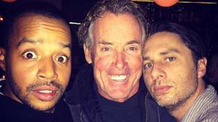Scrubs Reunion! Zach Braff, Donald Faison and John C. McGinley Come Together Almost Five Years Later