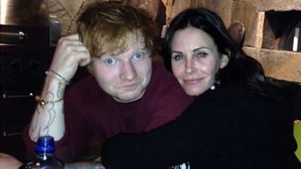 Ed Sheeran Premieres New Song in 'Cougar Town' Episode