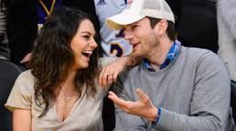 Mila Kunis & Ashton Kutcher Release Official Photo of Their Baby - You Just Have to Guess Which One it is!