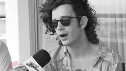 ZMTV - Guy & Georgia Talk to Matty From The 1975