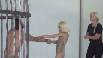 "Teaser: Sia's ""Elastic Heart"" Behind the Scenes"