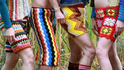 Is This Trend Your Friend? Crochet Shorts For Guys