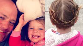 Meet the Single Father Who Took Lessons So He Could Do His Daughter's Hair