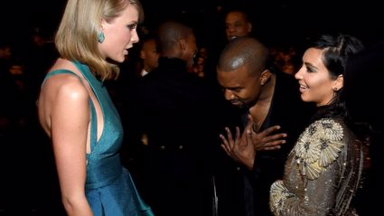 Kanye West & Taylor Swift Collaborating