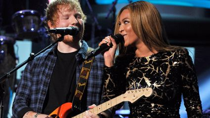 Ed Sheeran and Beyoncé Team Up to Duet at Stevie Wonder Tribute
