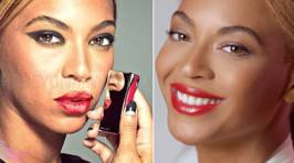Un-Touched Photos of Beyonce From L'Oreal Ad Campaign Leak