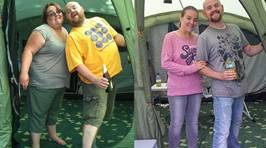 Obese Couple Shed HALF Their Combined Weight After Being Told They Only Had Years to Live