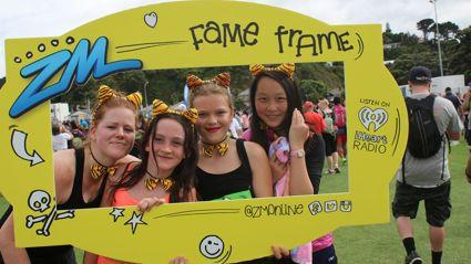 WELLINGTON - Cigna Round The Bays Fame Frame Photos