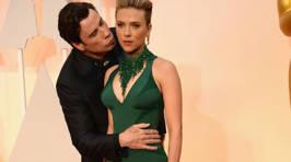 John Travolta's Creepy Oscars Kiss Gets Even Creepier With Memes