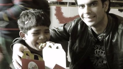 5-Year-Old Street Kid Eats McDonald's For the First Time