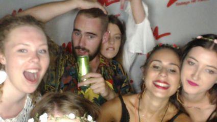 WELLINGTON - Massey Hipster Vs Hippie Photobooth Photos
