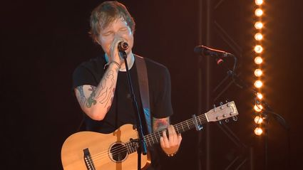 "Ed Sheeran - ""I See Fire"" Live At His iHeartRadio Gig"