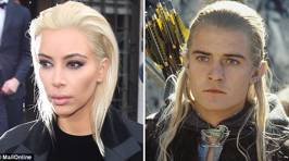 The Internet Has Decided Kim Kardashian Looks Like All These Things With Her New Blonde Hair