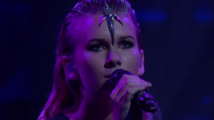 BROODS 'Four Walls' Live on Conan